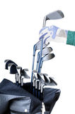 Strumentazioni di golf Fotografie Stock Libere da Diritti