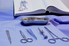 Strumenti chirurgici Immagini Stock Libere da Diritti