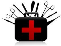 Strumenti chirurgici Immagine Stock Libera da Diritti