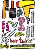 Strumenti dei capelli royalty illustrazione gratis