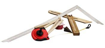 Strumenti dei carpentieri immagine stock