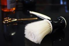 Strumenti del barbiere immagini stock
