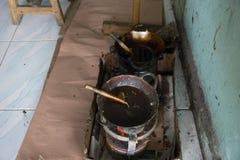 Strumenti del batik Immagine Stock