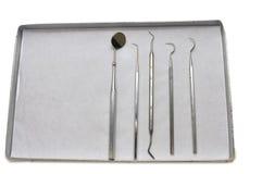 Strumenti del dentista Fotografia Stock