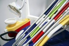 Strumenti del dentista Fotografie Stock