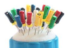 Strumenti del dentista. Fotografia Stock