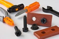 Strumenti del giocattolo Fotografia Stock Libera da Diritti