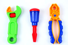 Strumenti del giocattolo fotografie stock