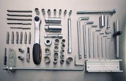 Strumenti del hardware Immagine Stock