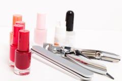 Strumenti del manicure Immagine Stock