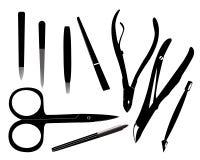Strumenti del manicure Fotografia Stock Libera da Diritti
