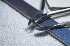Strumenti del manicure Immagine Stock Libera da Diritti