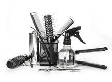 Strumenti del parrucchiere immagine stock