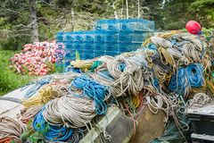 Strumenti del ` s dei Lobstermen Immagini Stock Libere da Diritti