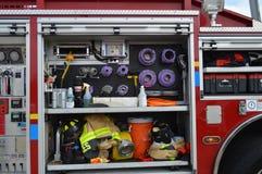 Strumenti del ` s del vigile del fuoco Fotografie Stock