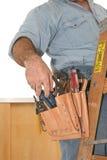 Strumenti dell'elettricista Fotografia Stock