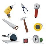 Strumenti dell'hardware Fotografia Stock