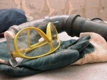strumenti dell'impianto idraulico immagini stock libere da diritti
