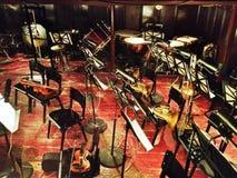 Strumenti dell'orchestra fotografie stock libere da diritti