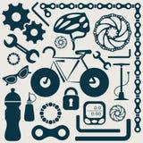 Strumenti della bici illustrazione vettoriale