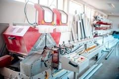 Strumenti della fabbrica, fabbricazione industriale ed attrezzatura di produzione Fotografie Stock Libere da Diritti