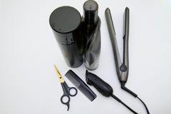 Strumenti della professione di hairstyling fotografia stock libera da diritti