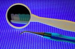 Strumenti dentali Fotografia Stock Libera da Diritti