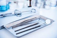 Strumenti dentari Fotografie Stock Libere da Diritti