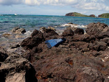 Strumenti di avventure, i Caraibi, Porto Rico, Culebra Immagini Stock Libere da Diritti