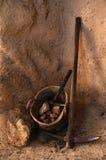 Strumenti di estrazione mineraria Immagine Stock Libera da Diritti