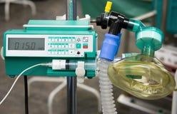 Strumenti di funzionamento del Anesthesiologist Fotografia Stock Libera da Diritti
