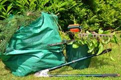 Strumenti di giardinaggio Immagine Stock Libera da Diritti