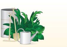Strumenti di giardino illustrazione vettoriale