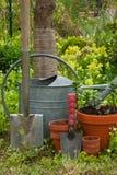 Strumenti di giardino Immagine Stock Libera da Diritti