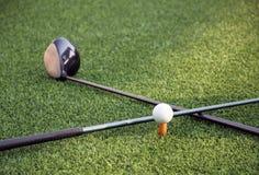 Strumenti di golf Immagini Stock