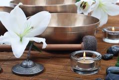 Strumenti di massaggio Fotografia Stock