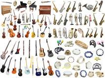 Strumenti di musica Immagini Stock Libere da Diritti