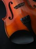 Strumenti di musica del violino Fotografie Stock Libere da Diritti