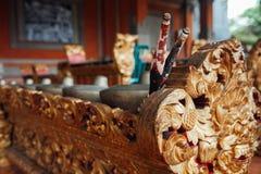 Strumenti di musica tradizionali di balinese, Ubud, Bali Immagini Stock