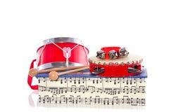 Strumenti di percussione Fotografia Stock Libera da Diritti