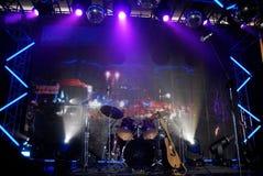 Strumenti di percussione Fotografia Stock