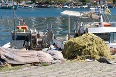 Strumenti di pesca Fotografia Stock