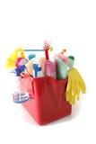 strumenti di pulizia Immagine Stock Libera da Diritti