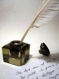 Strumenti di scritture Fotografie Stock Libere da Diritti