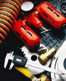 Strumenti e prodotti meccanici Immagine Stock Libera da Diritti