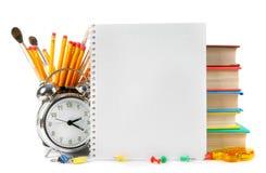 Strumenti ed accessori della scuola Fotografia Stock