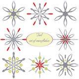 Strumenti in fiocchi di neve royalty illustrazione gratis