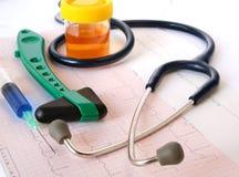 Strumenti medici Fotografia Stock