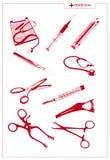 Strumenti medici royalty illustrazione gratis