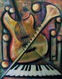 Strumenti musicali Fotografia Stock Libera da Diritti
